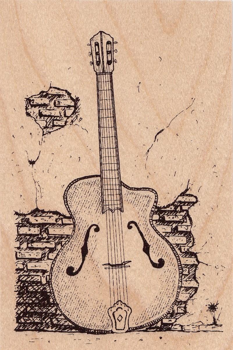 carte postale en bois-guitare-micropanorama