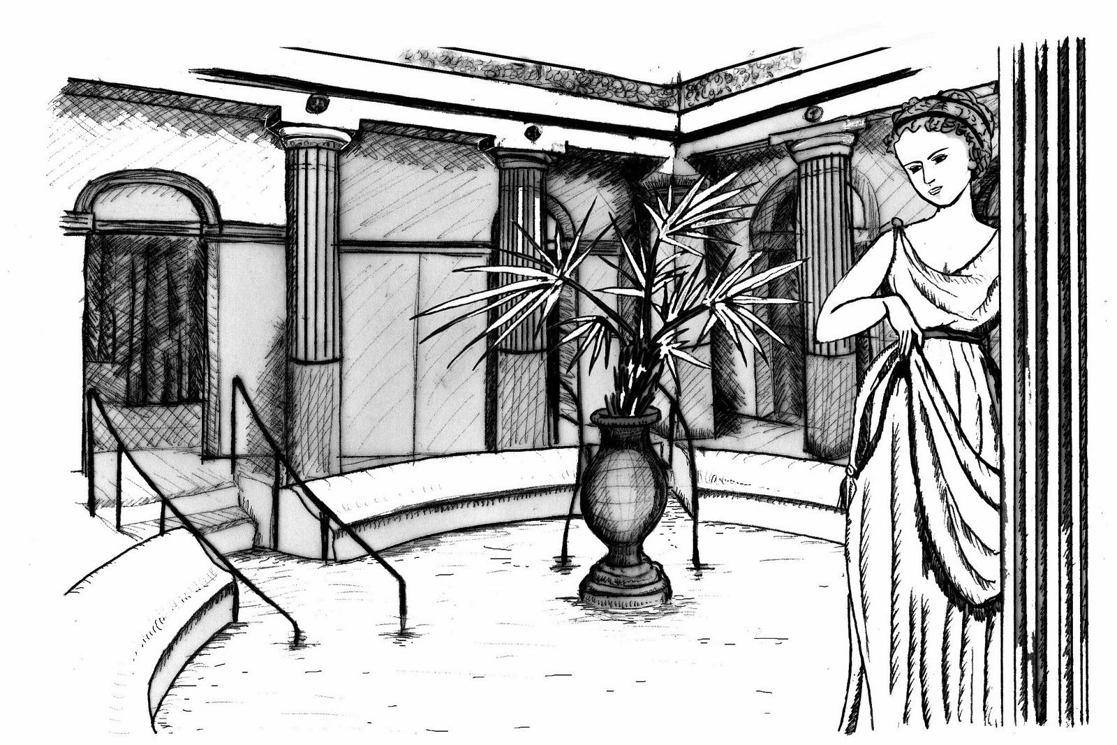 micropanorama-dessin-lamalou les bains